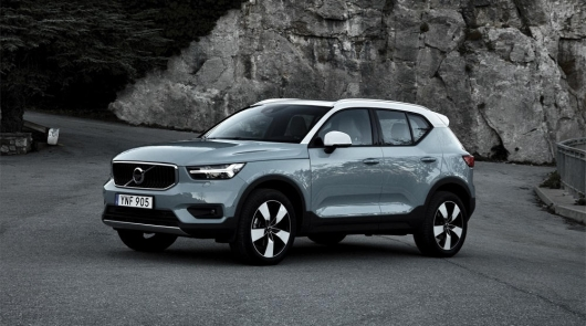 Swedish Volvo XC40 SUV has once again become the car of the year Japan