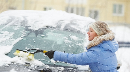 This is the safest (and fastest!) method to remove snow from your car