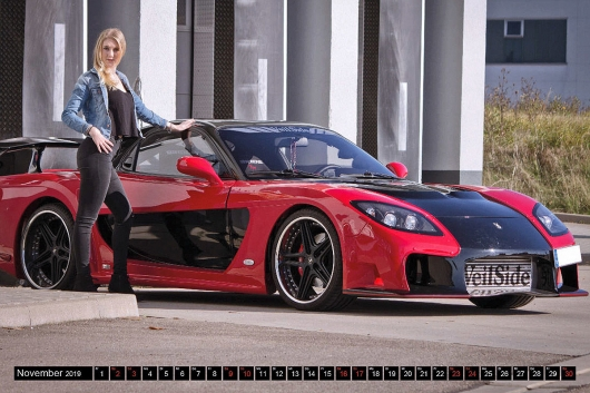 Hot women and fast cars: your car calendar for 2019