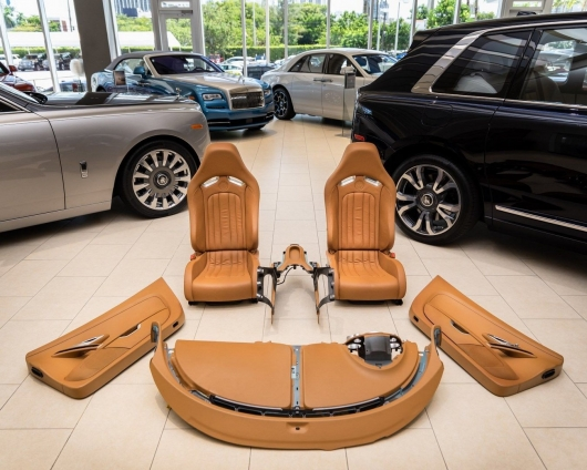 How to hang in grams: cost of a Bugatti Veyron interior will baffle even the millionaire