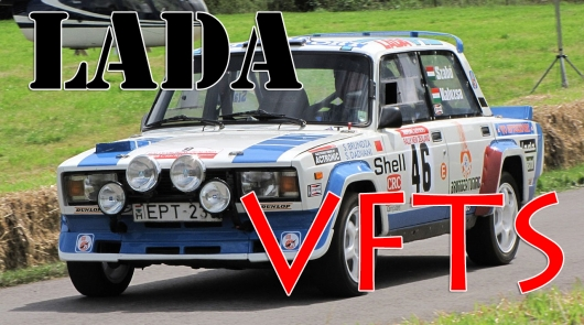 Lada 2105 VFTS in the world rally championship were