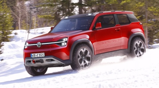Volkswagen is preparing a new cool SUV in contrast to the legendary Land Rover defender