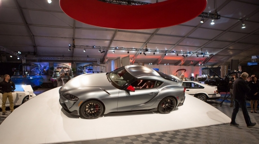 The first Toyota Supra GR sold for $ 2.1 million!