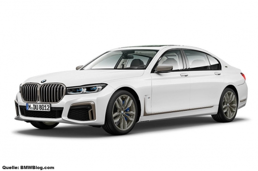 BMW has modified its flagship huge