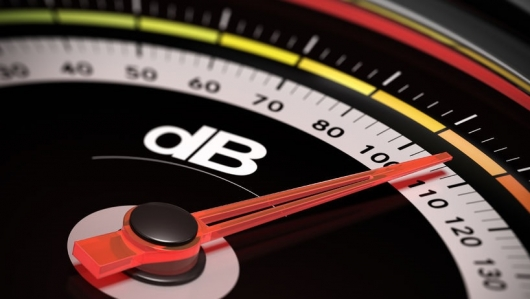 What is a decibel and how is it measured?
