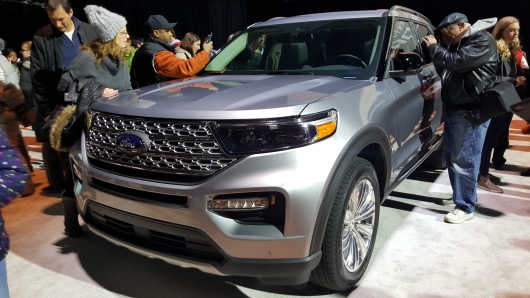 Ford returns to past experience with the VI generation 2020 Explorer