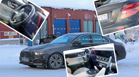 In the Network appeared the first photos of the redesigned 2020 Mercedes-Benz E-Class