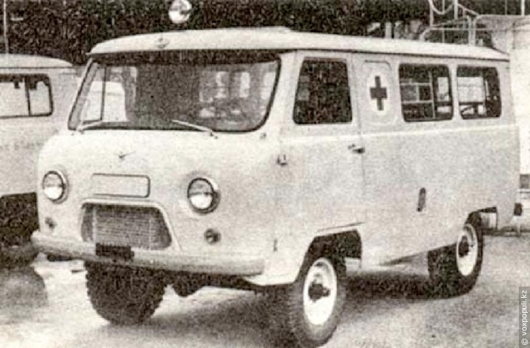 Why in the USSR as ambulances used the Volga?