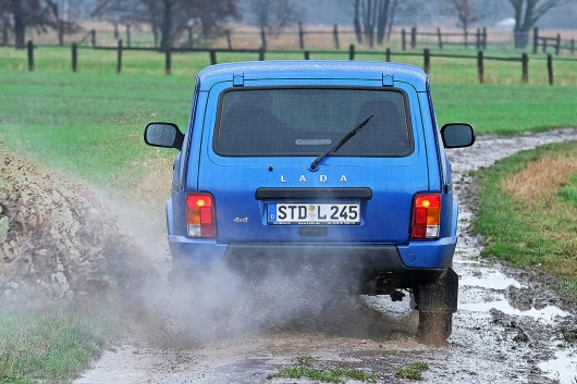 Why the Lada Niva is a cult car in Germany?