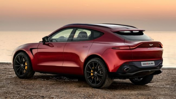 Aston Martin may launch the coupe and the 7-seater version of the model DBX