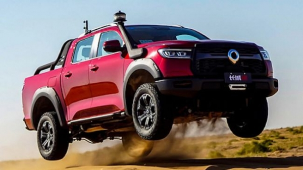 Cheap competitor to the Toyota Hilux will appear in Chinese dealerships in April