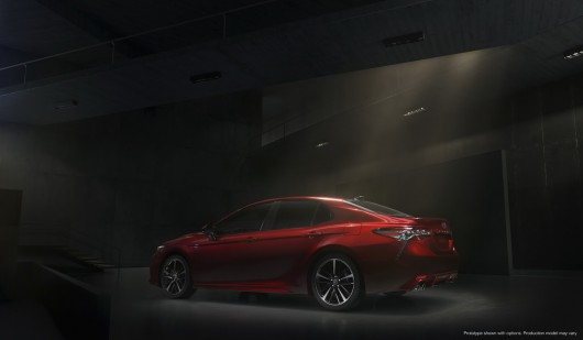 The 2018 Toyota Camry New generation