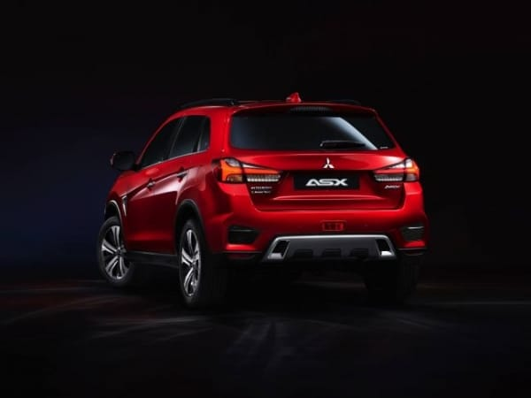 Get acquainted with the new Mitsubishi ASX crossover