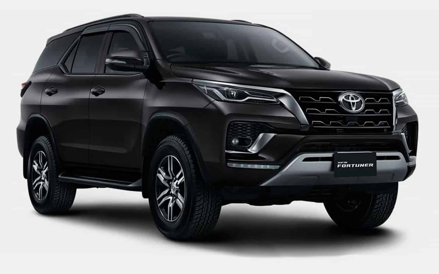 The Toyota Fortuner SUV has a new version of the GR Sport
