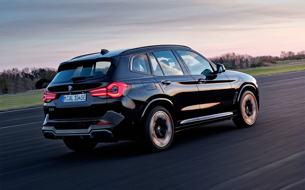 BMW introduced the updated crossover iX3