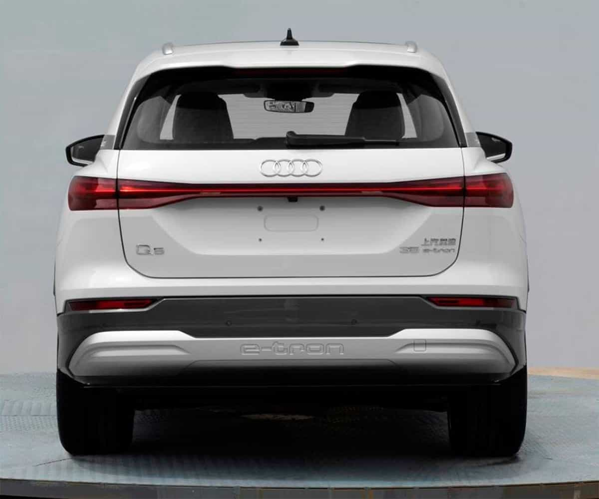 Audi has transferred the crossover Q5 to electric traction