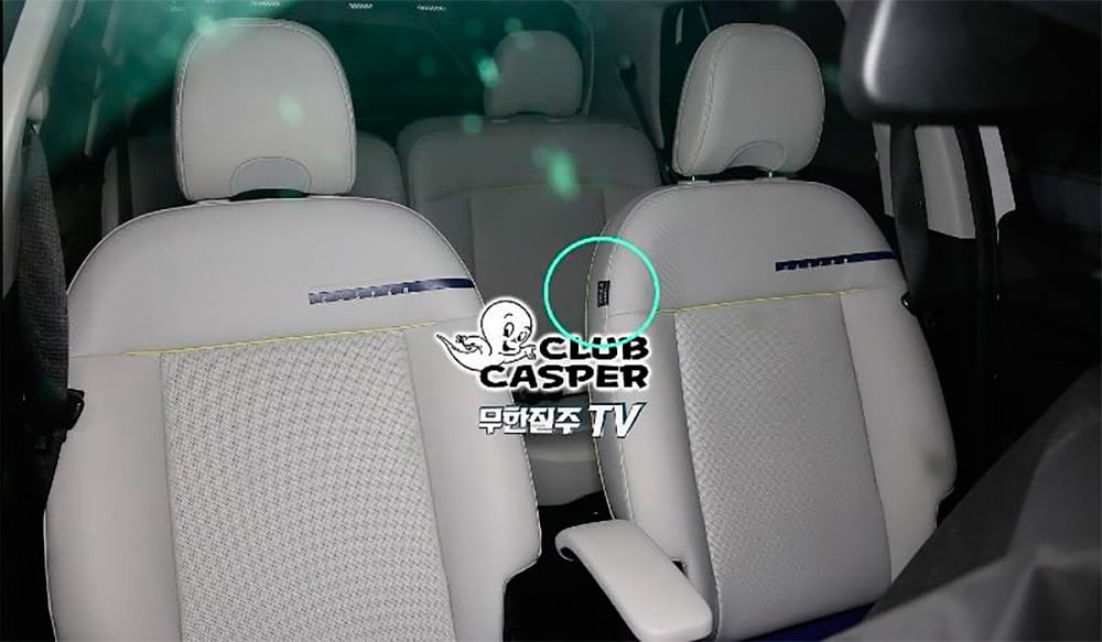 The interior of the smallest Hyundai crossover revealed
