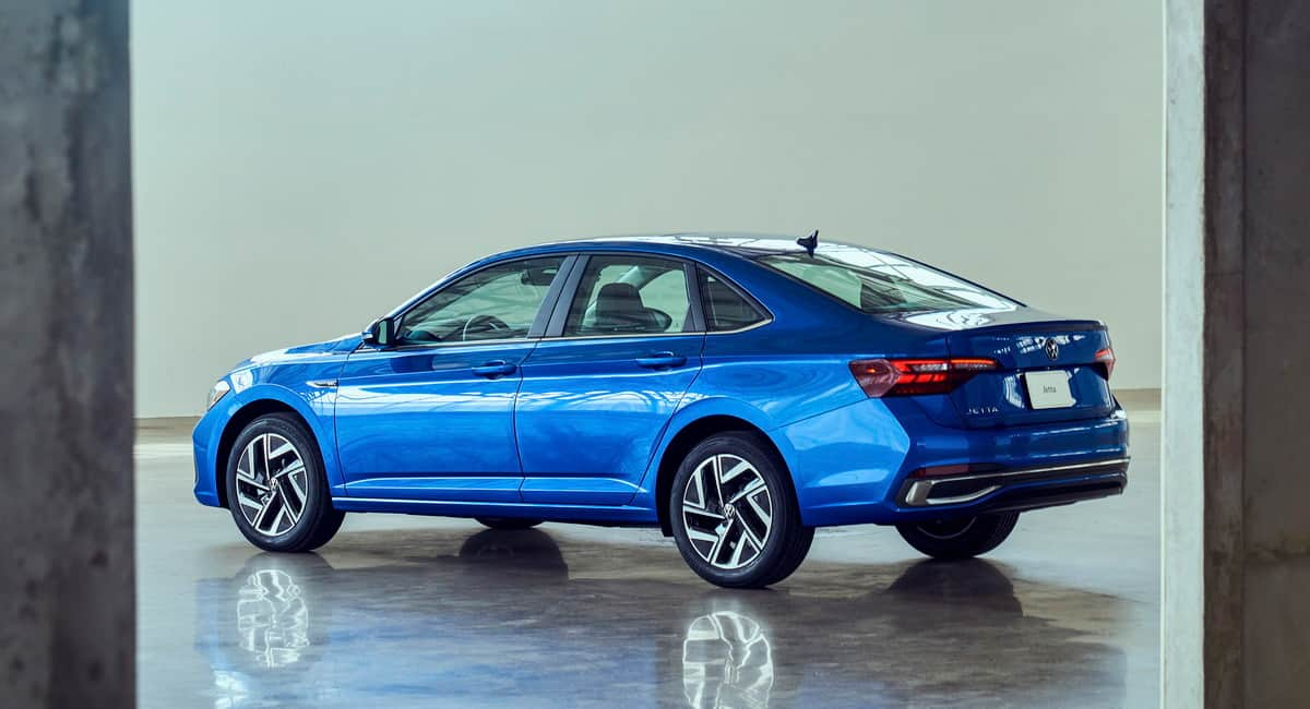 Volkswagen upgraded the Jetta sedan and added a new engine to it