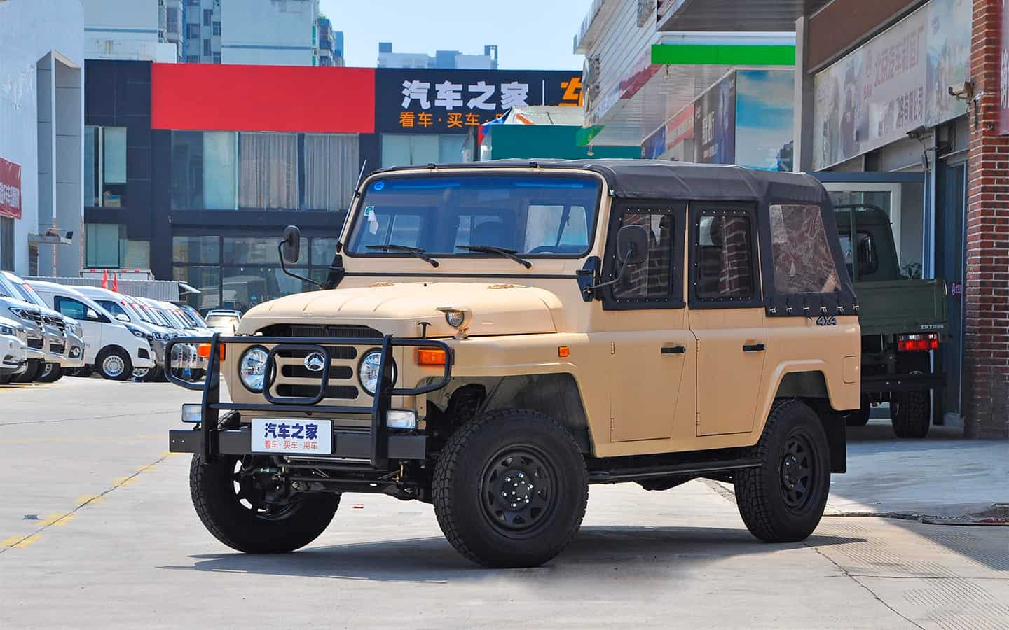 Chinese counterpart of UAZ received a 211-horsepower turbo engine
