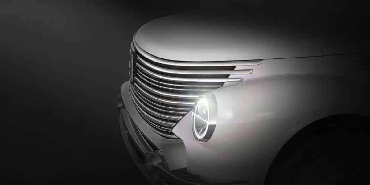 Chinese crossover in the style of the first minicar from the USSR: new photos