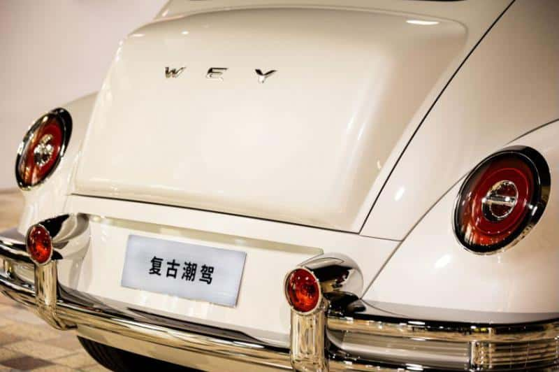 China's Great Wall has unveiled a new retro-styled crossover. Photo