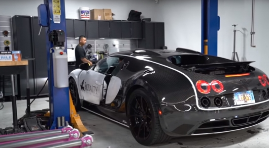 Changing the oil in the Bugatti Veyron costs 21 000 dollars: Here's how to save