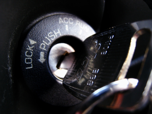 Key stuck in ignition lock: Here's what to do