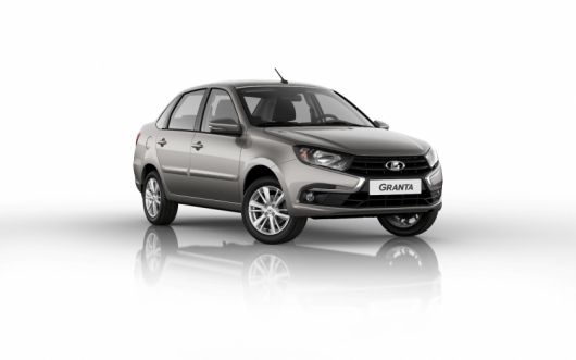 AvtoVAZ showed the updated Lada Granta