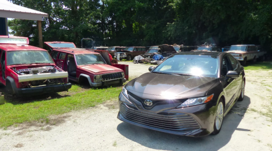 That's why the sedan Toyota Camry so highly appreciated throughout the world