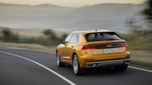2019 Audi Q8: the First test drive and review for Russia