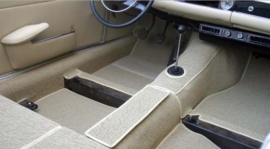 How simple, but effective clear car mats