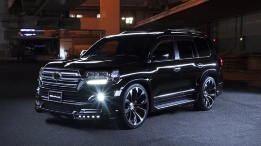 The tuning company from Japan made a stunning kit SUV Land Cruiser 200