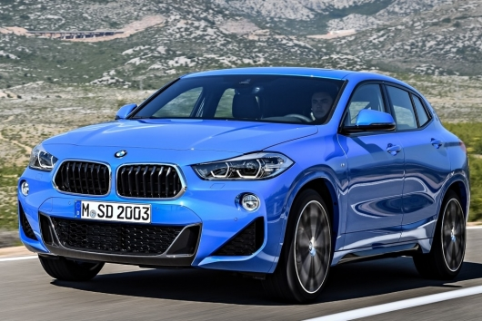 BMW X2 could not get the highest award of safety IIHS