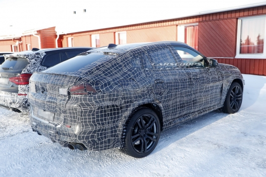 There was a chance for the first time to look inside of the prototype 2020 BMW X6 M