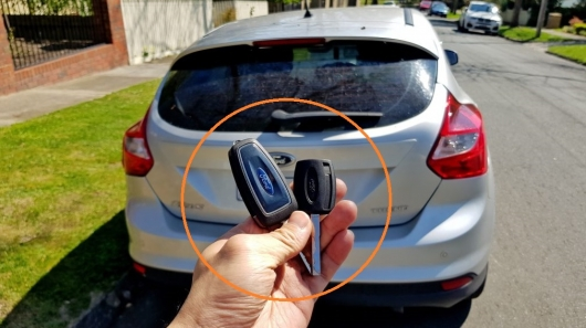 How To Replace The Battery In The Key Fob Ford Photos And Review