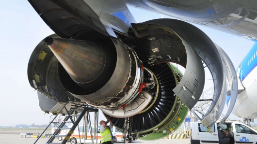 Why do some aircraft engines located under the wings, and the other on the tail